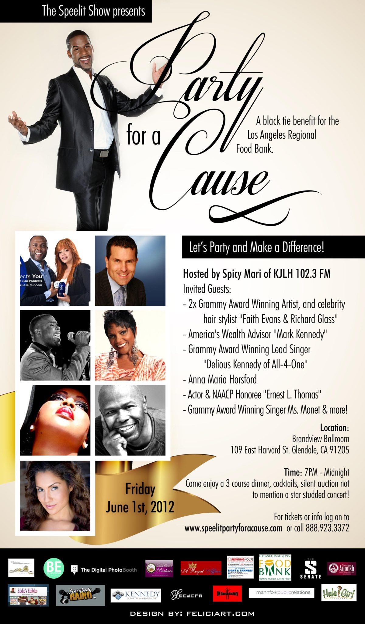 Party For A Cause - A Benefit for the Los Angeles Regional Food Bank