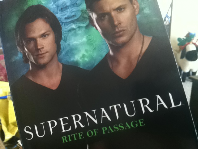 "New ""Supernatural"" Book by John Passarella: ""Rite Of Passage"""