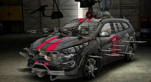 Hyundai & The Walking Dead Bring Fan-Designed Zombie Survival Machine To Life